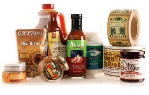 China Jars Food Packaging Labels , Food Grade Printed Self Adhesive Labels on sale