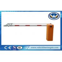 Car Parking Barrier Gate Arm Anti - collision With Straight  Boom  Length is 1 - 4.5 meters