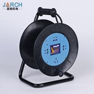 China High Capacity Extension Cord Hose Reel 275mm Steel Frame With ABS Plastic Material on sale