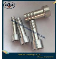 China #6 #8 #10 #12 A/C Hose Aluminum Fittings, Aluminum Tails Fittings. on sale