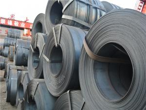 China 1 - 3MT Hot Rolled Steel Coils , HR Coiled Sheets Q345A/B 20# 45# / 65Mn / HRC Coils / Strips / Sheets on sale