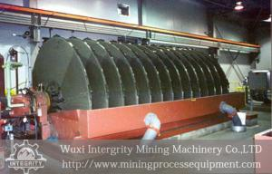 China Ore SlurryVacuum Disc Filter Dewatering In Mineral Processing on sale