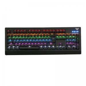 Quality AULA SI-886 Black Color Rainbow Backlight Black Switch Top Rated Gaming for sale