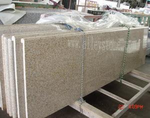 China yellwo granite countertop on sale
