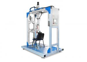 China PLC LCD Furniture Testing Machines , Chair  Back Push Impact Strength Testing Equipment on sale