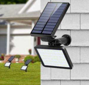 China 48LED Solar Power Spotlight Garden Lawn Lamp Landscape Lights Outdoor Waterproof on sale