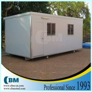 China 2014 Big Sales Prefbrication Modular 20ft Cheap Container House on sale
