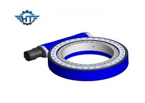 China Tracking Sun Slewing Ring Drive With 24 VDC Stepper Motor And Encoders For Solar Plant on sale
