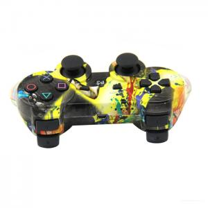 Quality ABS Material Bluetooth Game Controller , Ps3 Controller Joystick Pressure for sale