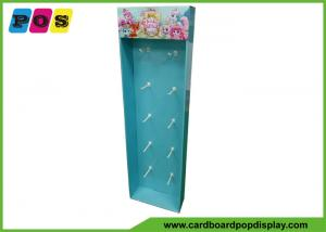 China POP Cardboard Sidekick Display Stand With Plastic Pegs For Target Store SK033 on sale