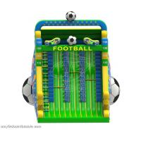 Biggest Green Inflatable Sports Games American Football Soccer Court For Outdoor