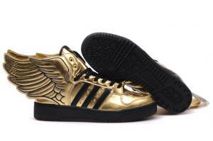 jeremy scott adidas originali d'oro sopra le le le ali le scarpe per la moda 62460c