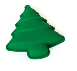 China christmas tree silicone cake mould on sale