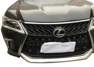 Black Lexus Body Kits Facelift For LX570 2008 - 2015 , Upgrade To