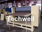 Roll Embossing Machine For Decorative MDF / HDF Panels 3.8 Ton