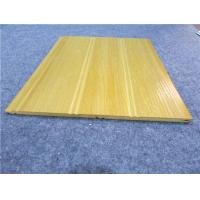 China Yellow PVC Sheets For Walls / UPVC Wall Sheeting / WPC Roof Panels on sale
