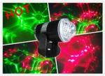 Mini Green and red Laser stage lighting with colorful cloud effect