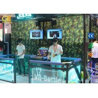 "China Interactive High ROI VR Game Machine With Two 32"" Real - Time Display Screens on sale"