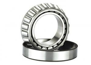 China Low Noise Tapered Roller Bearing 30205 Oil Or Grease Lubrication 25*52*15mm on sale