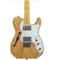 Fender Semi Acoustic Guitar Squier Vintage Modified Tele Thinline Natural Maple