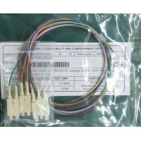 China E2000 Multimode Fiber Pigtail , OM2 Outdoor Optical Fiber Cable on sale