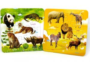 China DIY Create Jigsaw Puzzles From Your Photos Alphabet Non Toxic Colorful on sale