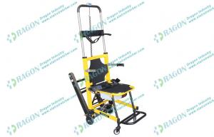 China Mobile emergency ambulance chairs for stairs evacuation with two folded handles on sale