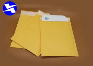 China Lightweight Kraft Paper Bubble Mailers Self Adhesive Tape High Frequency Heat Seal on sale