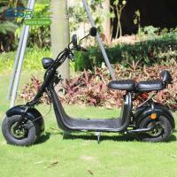 EcoRider EEC certification fat tire 1500 watt electric scooter