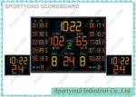 Marcador electrónico del baloncesto del contador de tiempo del juego, relojes de tiro inalámbricos de baloncesto