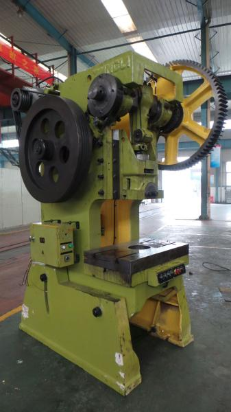 Hydraulic Inclinable Power Press Fixed Bed 160 Ton Mechanical