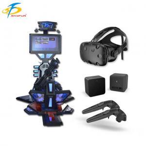 China Kids park rides HTC vive 9d vr machine Virtual Reality Gun shooting game platform on sale