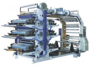 China Multi Coloured Flex Printing Machine For Plastic Bags High Performance on sale