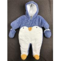 Long Sleeve Baby Winter Snowsuit Thick Hooded Down Romper Piece 0 - 24 Months