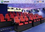 油圧、空気の、電気システムおよびアーク スクリーンが付いている 5D 映画館装置