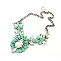 fashion jewelry Bubble resin necklace