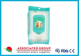 China Biodegradable Dog Face Wipes Preservative Free With Sanitizing on sale
