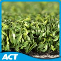 China Multipurpose PE Curly Yarn Artificial Turf Grass , Golf Garden Artificial Turf Tennis Court on sale