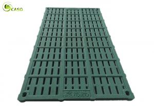 China Resin Pig Farrowing Crate Slat Floor BMC Sow Gestation Stall Leakage Dung Plate on sale