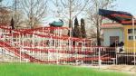 狂気のマウスのコースターの子供の運動場装置のスライド、8人
