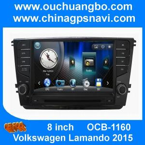 China Ouchuangbo audio DVD navi radio stereo Volkswagen Lamando 2015 support Russian BT swc USB on sale