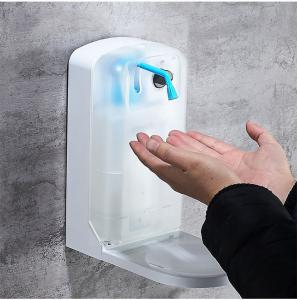 China Medical Automatic Touchless Soap Dispenser Wall Mounted 1000ml Drip / Spray Model on sale
