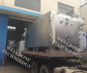China Thermal Oil Heating Industrial Tray Dryer No Cross Contamination 50 / 60Hz on sale