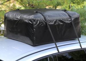 China Car Organizer Canvas Roof Rack Bag, Roof Top Cargo Bag For Car Without Roof Rack on sale