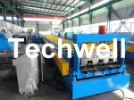 High Precision Steel Structure Floor Deck Roll Forming Machine For Metal Decking Sheet