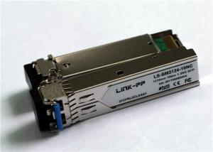 China 1.25Gbps SFP Transceiver , Single Mode , 10km Reach 1310nm LS-SM3124-10 Series on sale