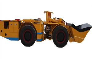 China 3 Cubic Meter Underground Mining Loader Double Support Slewing Hinge on sale