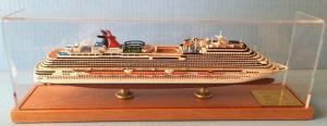 China Cruise Historical Model Ships , Carnival Magic Cruise Ship Toy Model Boats on sale