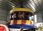 Commercial Inflatable Carousel Bounce House For Backyard 6 * 6m