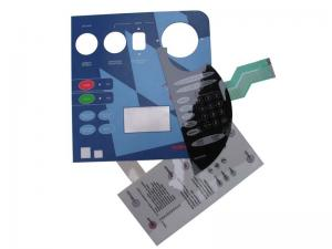 China UV embossed membrane switches on sale